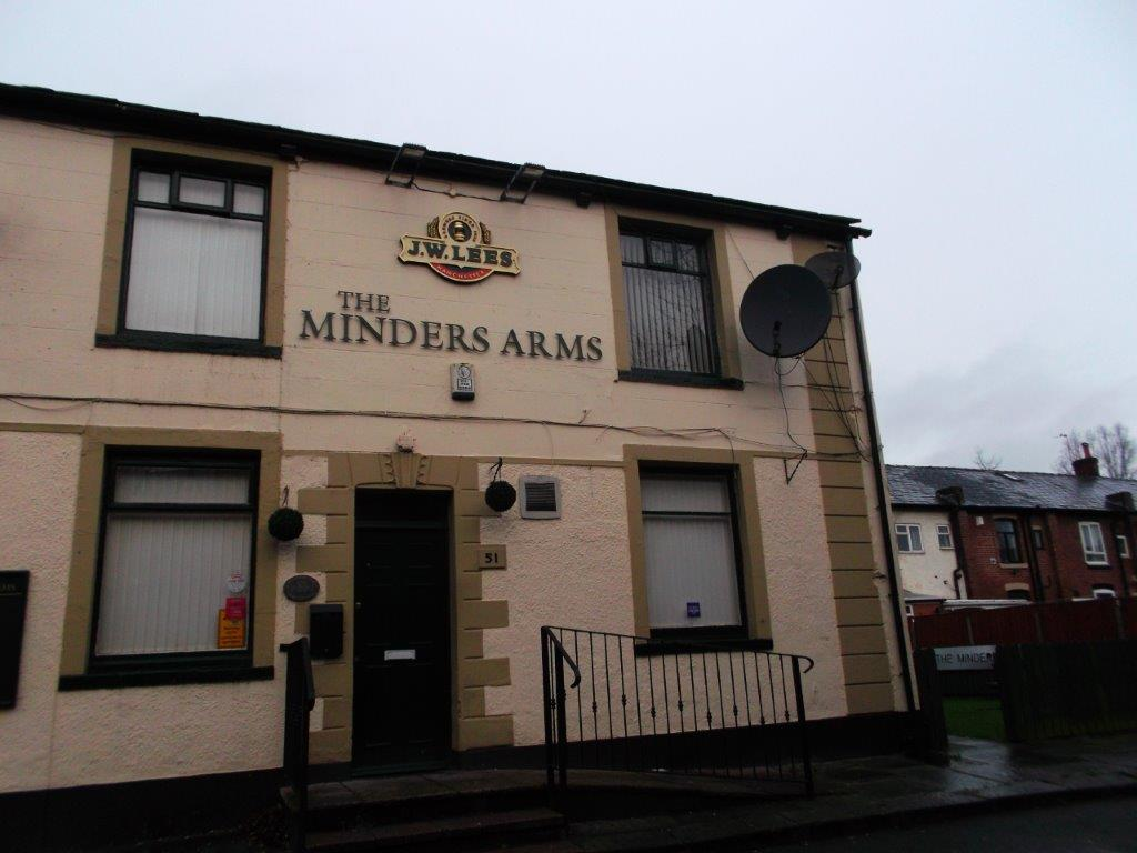 Minders Arms - Front